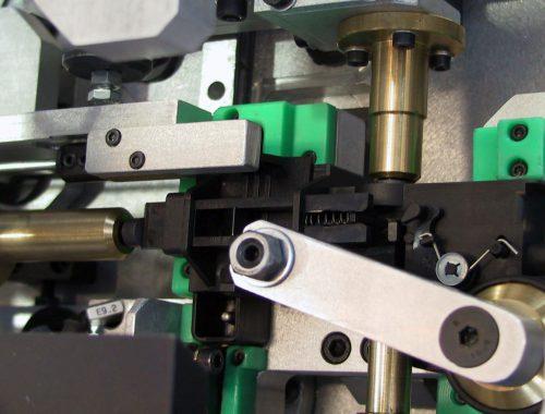 dettaglio del dispositivo per il controllo funzionale meccanico