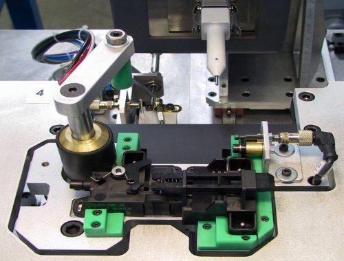 controllo funzionale meccanico e marcatura a micropercussione