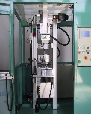 hot-plate welding device