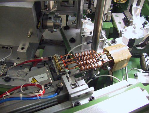 hot-plate welding device