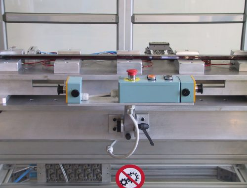 dispositivo per test elettrici su led