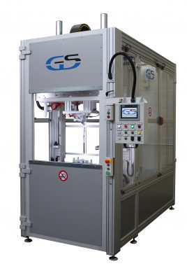 bivalent hot plate/infrared welding machine for wide surfaces GS-042