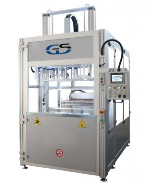 hot plate welding machine for wide surfaces GS-042