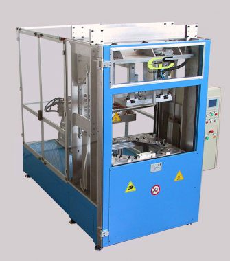hot plate welding machine for wide surfaces