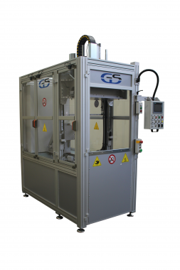 Hot plate welding machine for wide surfaces GS-040 97-2016