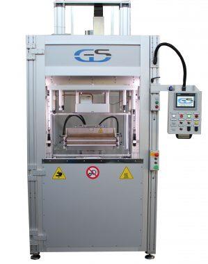 saldatrice bivalente a lama calda/infrarossi per ampie superfici GS-041