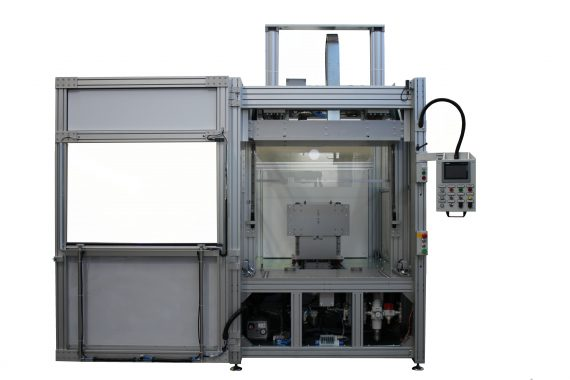 bivalent welding machine for wide surfaces GS-042-HP+I-E