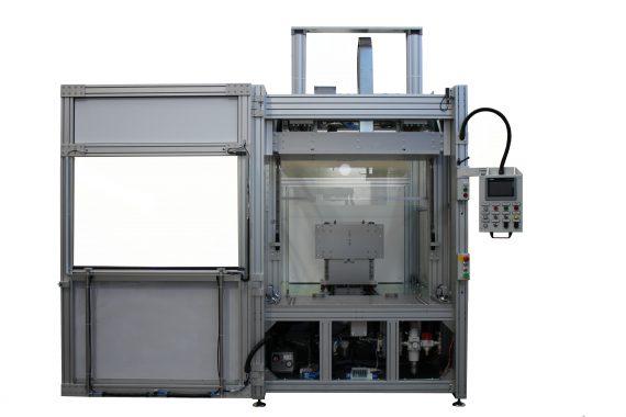 saldatrice bivalente a lama calda/infrarossi per ampie superfici GS-042