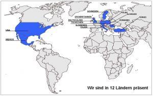 GS Finishing Machines in der Welt
