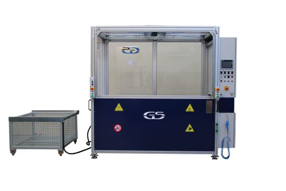 machine with interchangeable fixture GS-013-TCA