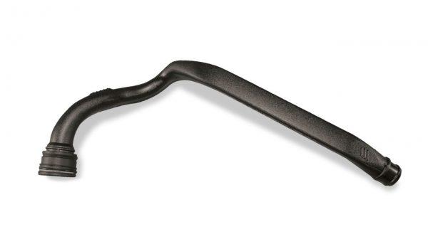 tubo sottoposto a taglio calotte