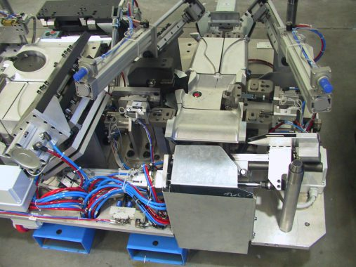devices for cutting, drilling, punching