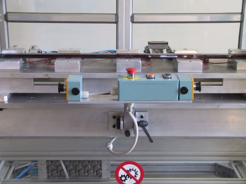 electric test device