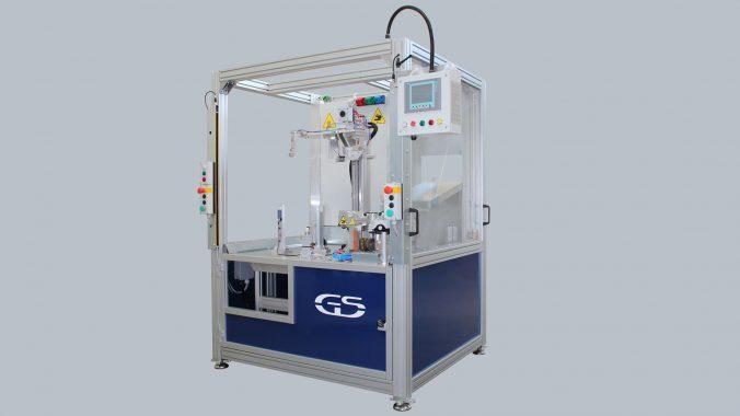 Maschine mit austauschbarer Ausrüstung für das Spiegelschweißen