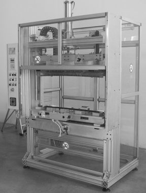 machine for functionality and electric tests