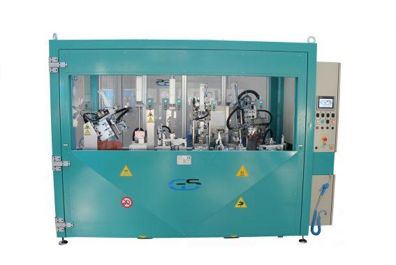 Ausrüstung montiert in der Maschine