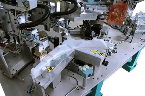 hot plate welding unit
