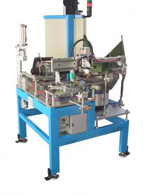 Boring and assembling machine
