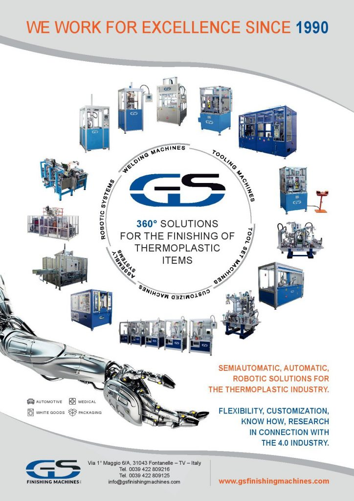GS Finishing Machines Graphic Advertisement